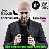 #Delirium 02 by Leo Lippolis for Ibiza Live Radio