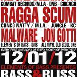 Alfonz De La Mota w/ MC Precision & Orb1x LIVE at Bass & BLiss 12/01/12