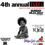 DJ Bee - 4th Annual B.I.G. Pop Up (Brunch Edition 05.21.2017)