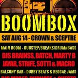 This is my Bass Heavy set from the last ever Boombox at the Crown and Sceptre