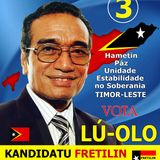 Lu-Olo: candidato a Presidente da República para todo o Povo anunciando o seu compromisso eleitor
