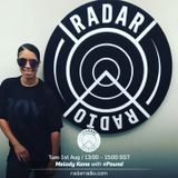 Melody Kane on Radar Radio live 1st Aug 2017 (radio rip)