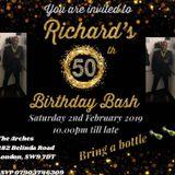 Richies 50th Birthday Bash Ft Davinci & Terry P, TLC & Cookie, Hyper ESQ 2/2/2019