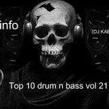 Insideinfo – Top 10 drum n bass vol 21 (DJ KABAN MIX 2015)
