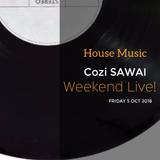Cozi SAWAI Weekend Live, at FSS Club FRI 5 OCT