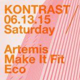 Live @ Kontrast June 13, 2015