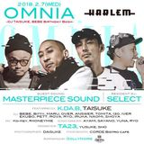 Live Mix 2.7.2018 in Omnia at Club Harlem Tokyo