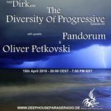 Pandorum - Guest Mix - The Diversity Of Progressive 20 (15th April 2015) on DeepHouseParadeRadio