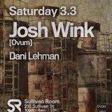 Josh Wink Live at Sullivan Room , 3.3.2012