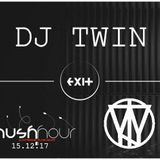 DJ TWIN (live set) from Exit club Brno, for party Rush Hour 15.12.17 hedliner MATT MUS (DE)