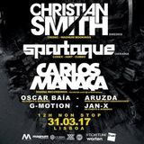 JAN-X @ The Docks Club w/ Spartaque | Lisboa, Portugal
