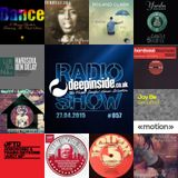 DEEPINSIDE RADIO SHOW 057 (Hardsoul Artists of the week)