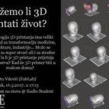 Znanost na Eteru - 3D printanje - intervju Roberto Vdović - 16.3.2017.