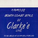 Clarkee - Fusion, South Coast Style 3rd December 1993