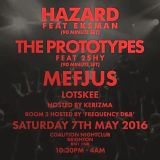 The Prototypes feat. 2Shy MC (Get Hype Records, Viper) @ Coalition Nightclub - Brighton (07.05.2016)