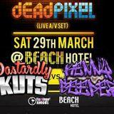 Dastardly Kuts vs Kenny Beeper - Live At The Beach Hotel Byron Bay