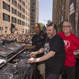 DAVID DEPINO, F.KEVORKIAN, JOEY LLANOS live at larry levan way street party 4°, new york 11.05.2014