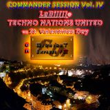 LaBil[l]: TECHNO NATIONS UNITED on MIDNIGHT EXPRESS FM - COMMANDER SESSION Vol. IV (14. Feb. 2016)