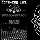 CRTXLP01 - Live Conspiracy [Zip the Robot & The Mr X...]
