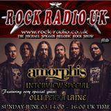 The Michael Spiggos Melodic Rock Show featuring Olli-Pekka Laine (Amorphis) 03.06.2018