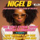 NIGEL B's RADIO SHOW (SUNDAY 8th APRIL 2018)