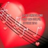Dj set Sinopoli Ciro Deep And Soulful Ottobre 2014