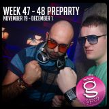WEEK 47-48 (November 19 - December 2) Preparty