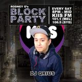 THE BLOCK PARTY (MIX 11) OLD SKOOL R&B - KIIS 106.5FM mix by DJ QRIUS