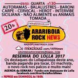 # 130 Arariboia Rock News - 29.03.2017 - Especial Lollapalooza 2017 - Resenha
