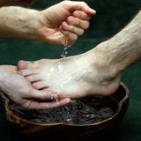 1991 Le Seigneur à table - Le lavage des pieds
