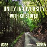 Kristofer - Unity in Diversity 385 @ Radio DEEA (28-05-2016)