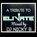 A Tribute To Elivate Mixed By DJ Nicky B