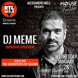 HOUSE OF FRANKIE GUEST DJ MEME + GUEST MIX THE SCIENTISTS OF SOUND