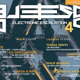 Philip Bogdan @ Electronic Escalation // Sägewerk Pforzheim 09.05.2015