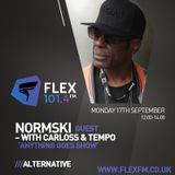 Flex FM - Carloss & Tempo Anything Goes Show feat Normski I/V & Mix 17/9/18