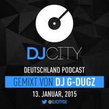 DJ G-Dugz - DJcity DE Podcast - 13/01/14