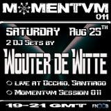 Momentvm Sessions 011 - Wouter de Witte - 2 dj sets - 2012-08-25 - Fnoob Techno Radio