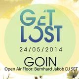 """Bernhard Jakob - Get Lost """"Open Air Floor"""" - GoIN Obergünzburg, 24.05.2014 (19:00 - 21:00 Uhr)"""