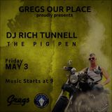DJ Rich Tunnell: Pig Pen LIVE @ Greg's Our Place: IML Sendoff Party! Part 2 of 2