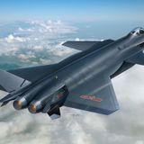 Chiński super myśliwiec- Chengdu J-20