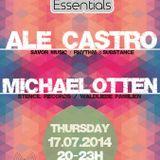 Ale Castro - Berlin Essentials Radio Show, July 2014