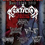 Dismemberment Fest Showcase - Mortician returns to Texas for the first time in 14 years!