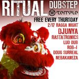 Nebakaneza Live at Ritual's First Ragga Night (Dubstep Mix #8 - Deep Reggae Vibes)