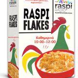 Raspi Flakes 28/05/2015 με Κούκλο, Στεφαντίνο και Θέμη