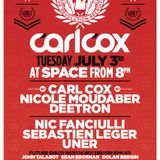 Carl Cox - Live @ The Revolution Recruits Opening Party (Space) - 03.07.2012