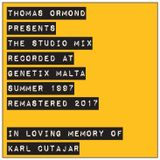 Thomas Ormond presents The Studio Mix recorded at Genetix Malta Summer 1997 remastered 2017.