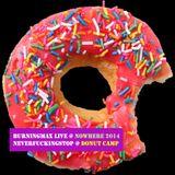Burningmax Live • Nowhere 2013 • Neverfuckingstop Donut Camp