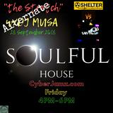 "Alternate Stretch ""Shelter VS Baby Powder"" w/DJ Musa Live stream archive 9-28-2018 4.00 PM"