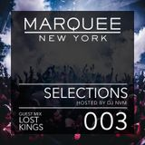 003 Lost Kings Guest Mix - Marquee Selections Podcast