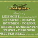 Rethink Techno Open Air - Live mix - Lessnoise and Romman